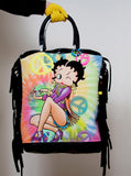 Betty Boop Beaded Fringe Tote Bag - IDILVICE Clothing - 3