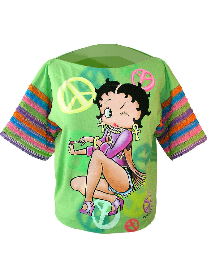 Betty Boop Flamenco Ruffle Top - IDILVICE Clothing - 1