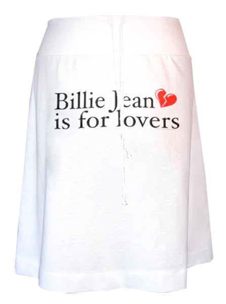 Michael Jackson Billie Jean Is For Lovers Aline Skirt - IDILVICE Clothing - 1