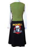 Bones Powell Peralta Sheath Dress - IDILVICE Clothing - 2