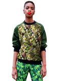 Cactus Print Sweatshirt Top - IDILVICE Clothing - 2