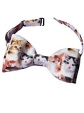 Tiny Kitten Faces Printed Bow Tie - IDILVICE Clothing - 1