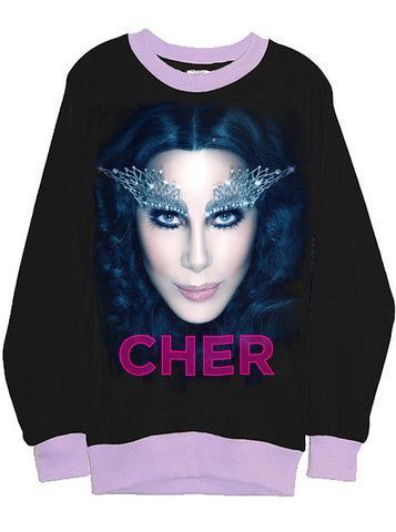 Cher Goddess Two Tone Organic Sweatshirt
