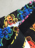 Grateful Dead Bears Plush French Terry Towel Wrap Skirt