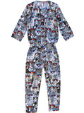 Cool Safari Animals Cotton Jumpsuit - IDILVICE Clothing - 1