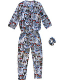 Cool Safari Animals Cotton Jumpsuit - IDILVICE Clothing - 2