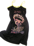 Medieval Game Of Thrones Crown A-Lined Spaghetti Strap Dress - IDILVICE Clothing - 1