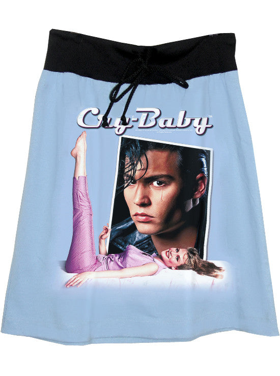 Cry Baby Johnny Depp Photo Print T-Shirt Skirt