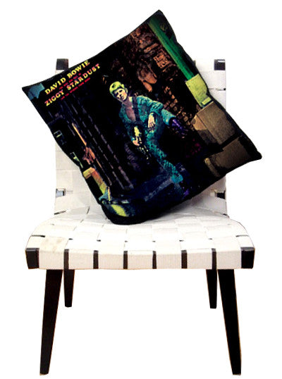 David Bowie Ziggy Stardust Album Pillow Cover - IDILVICE Clothing