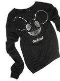 Deadmau5 Silver Foil Printed Sweater Jumper - IDILVICE Clothing - 2