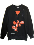 Depeche Mode Violator Rose Sweatshirt - IDILVICE Clothing - 1