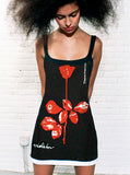 Depeche Mode Violator Rose Print Mini Dress