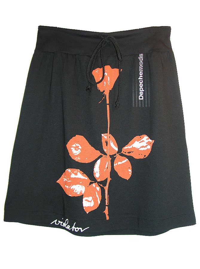 Depeche Mode Violator Rose A-Line T Skirt - IDILVICE Clothing