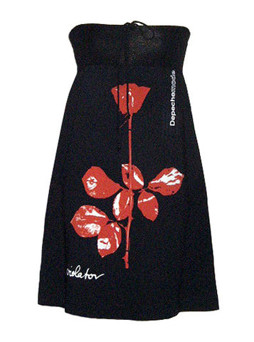 Depeche Mode Violator Strapless Bandeaux Dress
