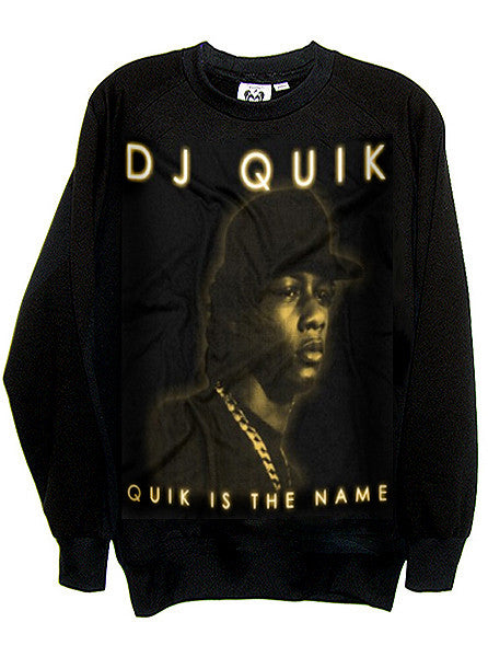 Dj Quik Oakland Rap Organic French Terry Sweatshirt - IDILVICE Clothing