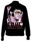 Elvis Presley Vegas Portrait Satin Varcity Jacket - IDILVICE Clothing - 1
