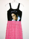 Elvis Presley 1950s Ruffle Maxi Dress Gown - IDILVICE Clothing - 2