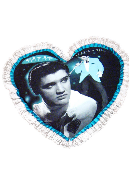 Elvis Presley 1950s Heart Pillow Cover - IDILVICE Clothing
