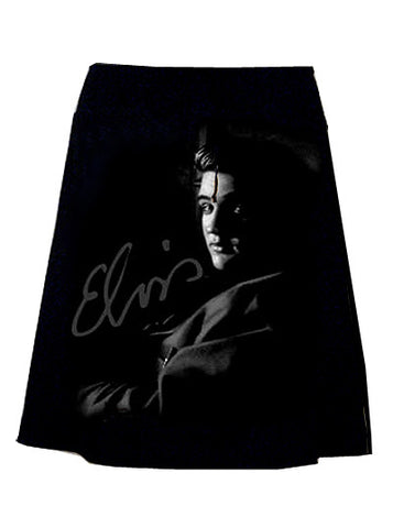 Elvis Young Photo Print T-Shirt Skirt