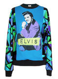 Elvis Presley 50s Pucci Pattern Sweater Top - IDILVICE Clothing - 1