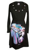Elvis Presley Las Vegas Long Sleeve Dress - IDILVICE Clothing - 1