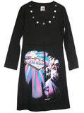Elvis Presley Las Vegas Long Sleeve Dress - IDILVICE Clothing - 2