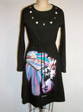 Elvis Presley Las Vegas Long Sleeve Dress - IDILVICE Clothing - 3