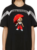 Chica Espanola Cowgirl Spanish Souvenir Doll Sombrero Fringe Adult T-Shirt Top