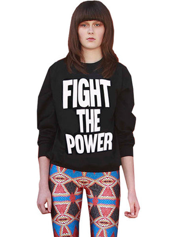 Public Enemy Fight The Power Organic Sweatshirt