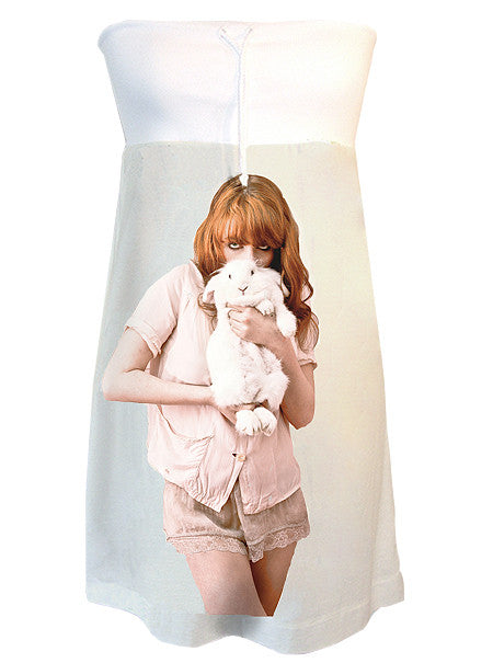 Florence And The Machine Bunny Rabbit Strapless Dress