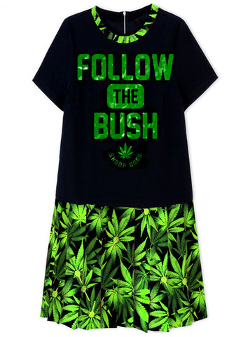 Follow The Bush Snoop Dogg School Girl Dress