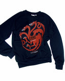 Game Of Thrones Targaryen Dragon Sigil French Terry Sweatshirt - IDILVICE Clothing - 2