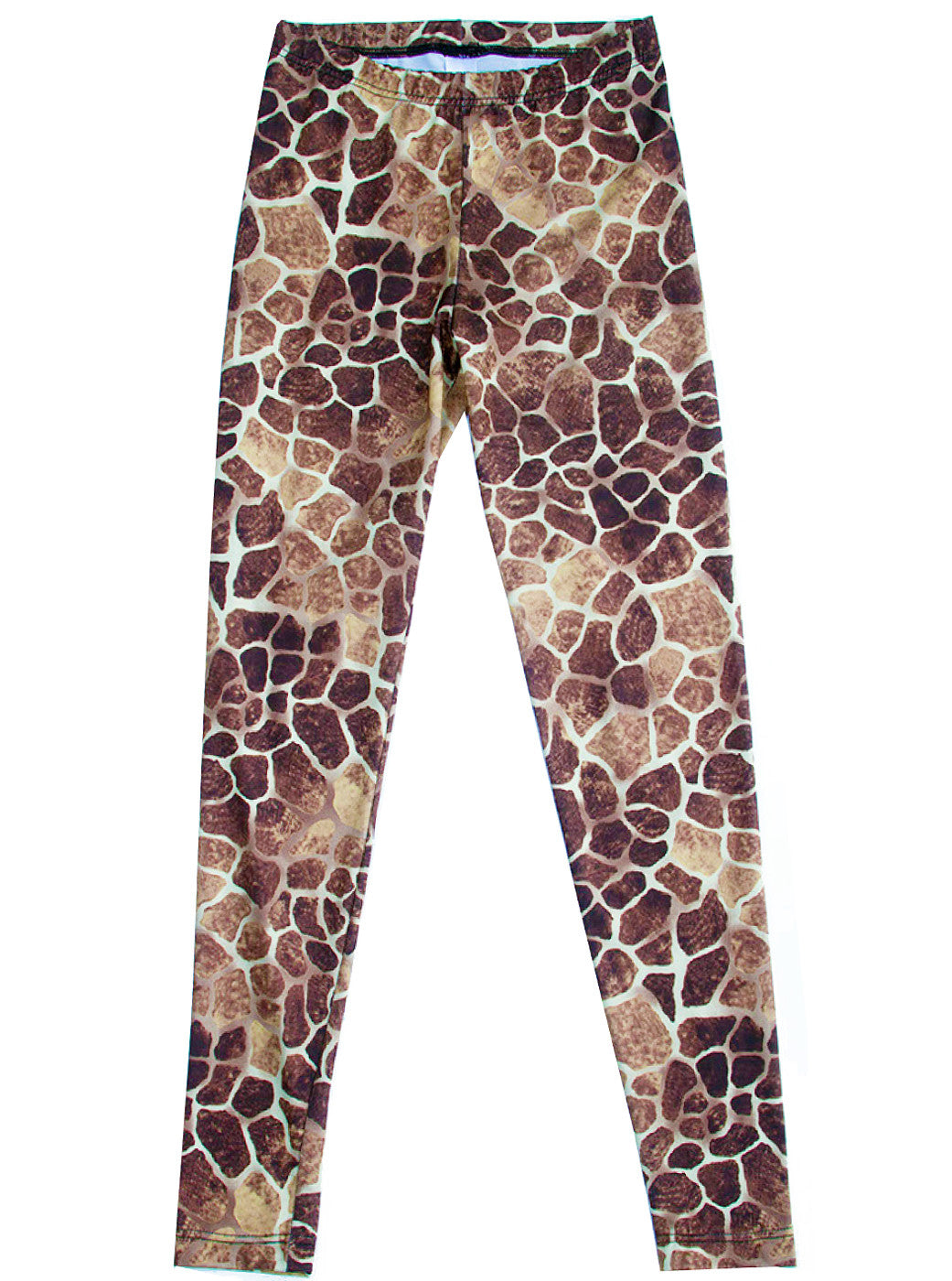 4e04418e3605d Home > Products > Giraffe Animal Print Spandex Leggings