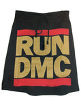 RUN DMC Logo Hip Hop Printed T-Shirt Skirt - IDILVICE Clothing - 2