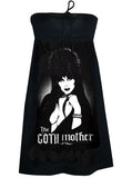 Elvira Goth Mother Tube Strapless Dress - IDILVICE Clothing - 1