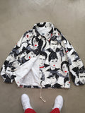 Hollywood Legends Icons Pop Art Coaches Jacket