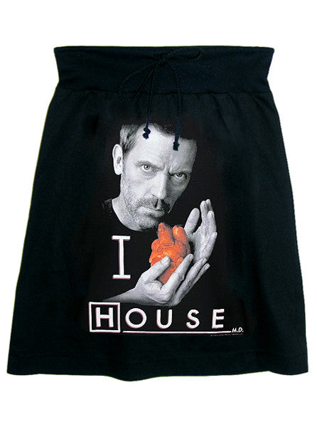 House M.D. Photo Print T-Shirt Skirt - IDILVICE Clothing