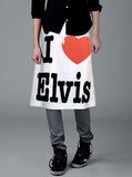 I Heart Elvis Presley A-Line Drawstring Skirt - IDILVICE Clothing - 2