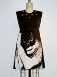 Ian Curtis Studded Sheath Dress - IDILVICE Clothing - 3