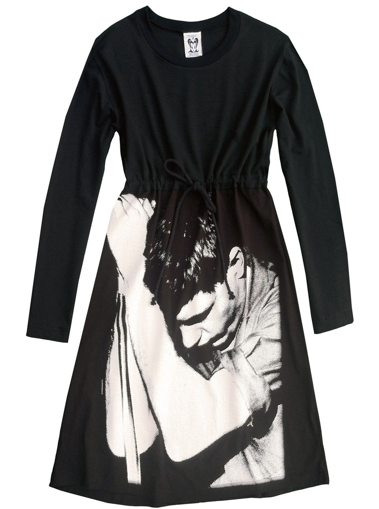 Ian Curtis Joy Division T-Shirt Dress - IDILVICE Clothing