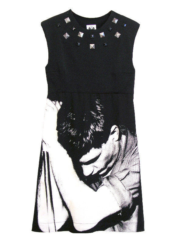 Ian Curtis Studded Sheath Dress - IDILVICE Clothing - 1