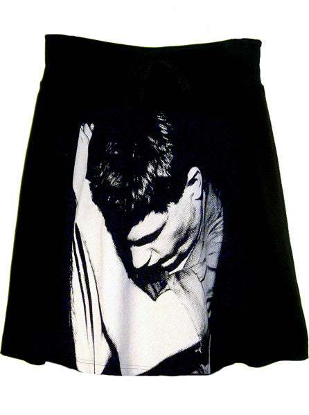 Ian Curtis Joy Division Photo Printed Skirt - IDILVICE Clothing