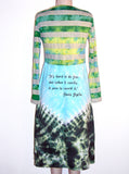 Janis Joplin Tie Dye Long Sleeve Dress - IDILVICE Clothing - 2