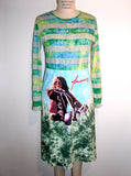 Janis Joplin Tie Dye Long Sleeve Dress - IDILVICE Clothing - 3