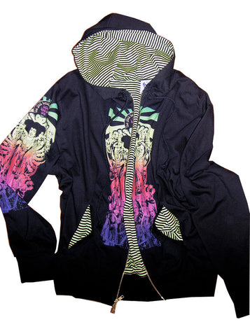 Jimi Hendrix Axis Bold As Love Hoodie Jacket