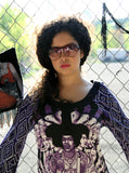 Jimi Hendrix Bold As Love Fringe Kaftan Dress - IDILVICE Clothing - 4