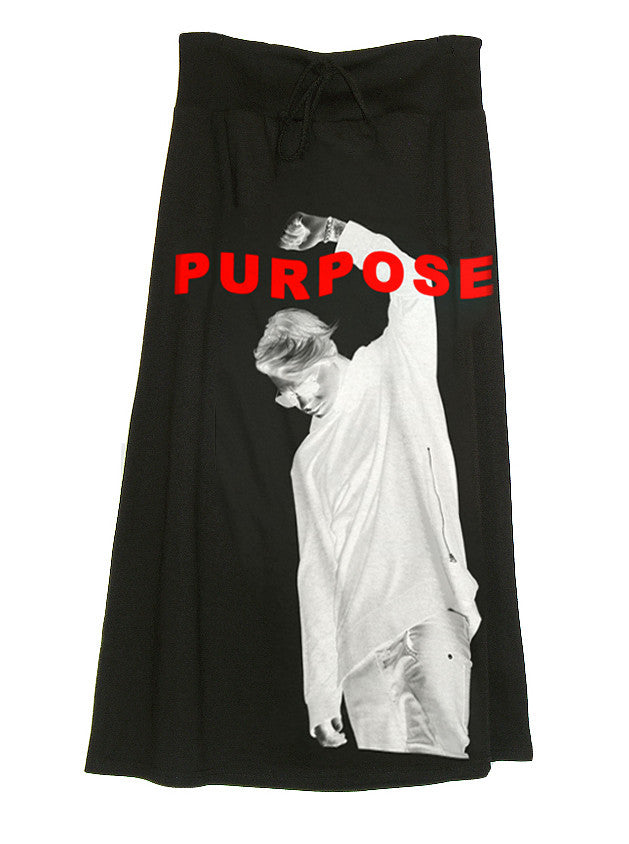 Bieber Purpose Long Maxi Skirt - IDILVICE Clothing