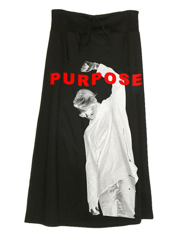 Bieber Purpose Long Maxi Skirt