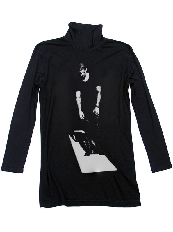 Justin Bieber Pensive Turtleneck Sweater - IDILVICE Clothing