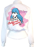 Katy Perry California Dreams Pop Art High Waisted Satin Jacket - IDILVICE Clothing - 1